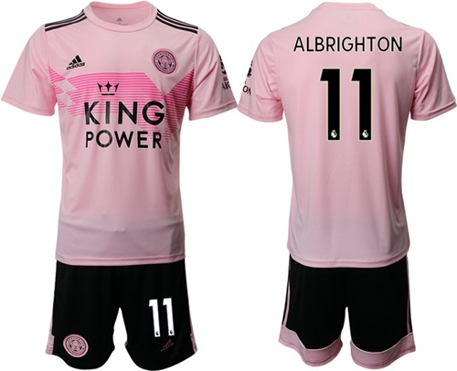 Leicester City #11 Albrighton Away Soccer Club Jersey