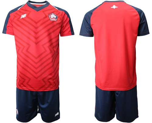 Lille Blank Home Soccer Club Jersey