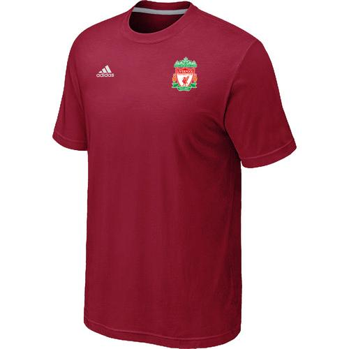 Adidas Liverpool Soccer T-Shirt Red
