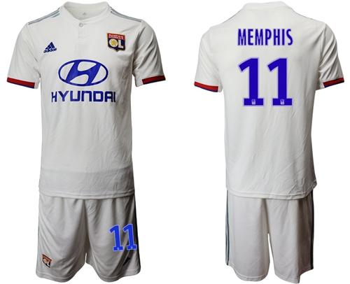 Lyon #11 Memphis Home Soccer Club Jersey