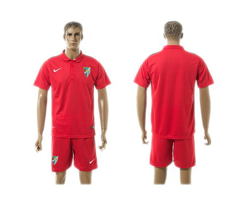 Malaga Blank Red Training Soccer Club Jersey
