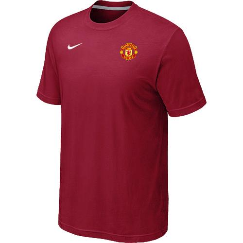 Nike Manchester United Soccer T-Shirt Red