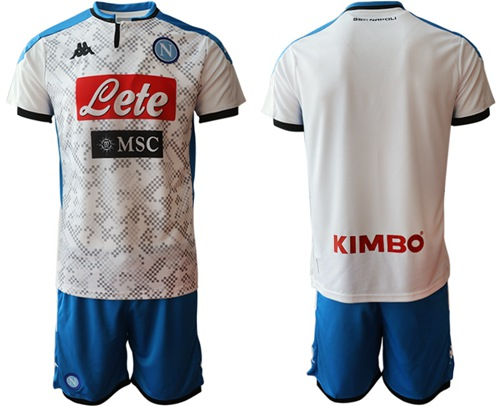 Naples Blank Away Soccer Club Jersey