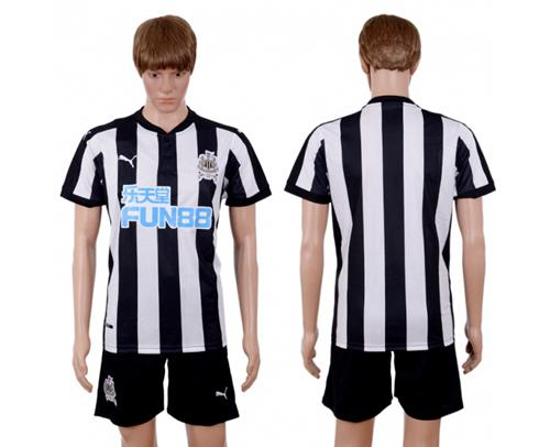 Newcastle Blank Home Soccer Club Jersey