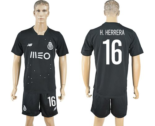 Oporto #16 H.Herrera Away Soccer Club Jersey