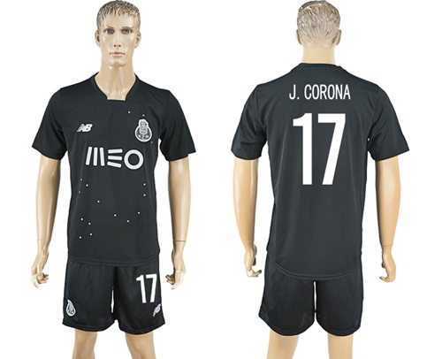 Oporto #17 J.Corona Away Soccer Club Jersey