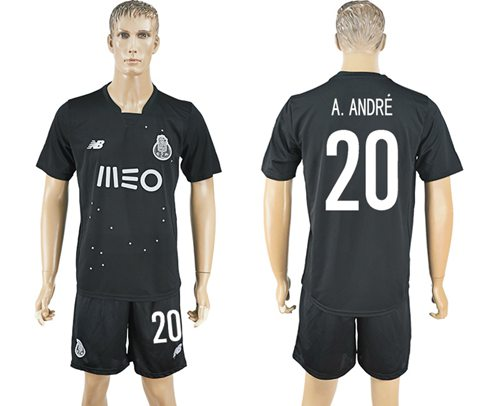 Oporto #20 A.Andre Away Soccer Club Jersey