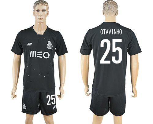 Oporto #25 Otavinho Away Soccer Club Jersey