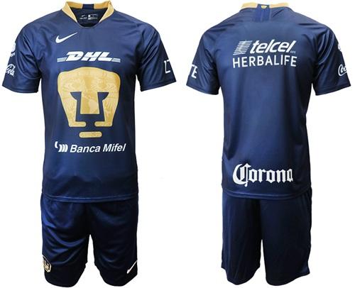Pumas Blank Away Soccer Club Jersey