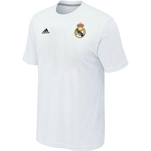 Adidas Real Madrid Soccer T-Shirt White