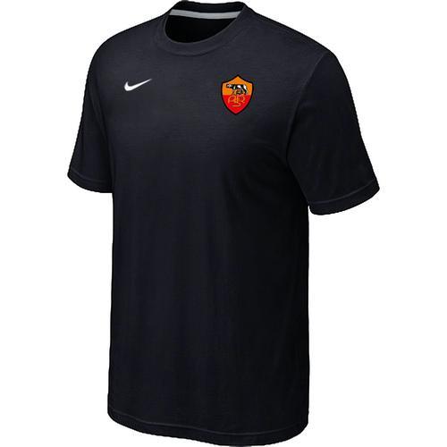 Nike Roma Soccer T-Shirt Black