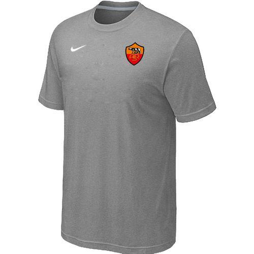 Nike Roma Soccer T-Shirt Light Grey