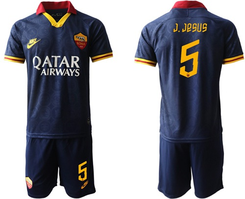 Roma #5 J.Jesus Third Soccer Club Jersey
