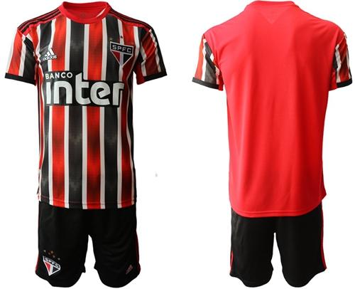 Sao Paulo Blank Away Soccer Club Jersey