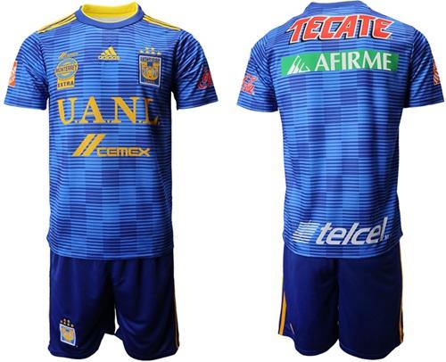 Tigres Blank Away Soccer Club Jersey