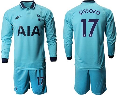 Tottenham Hotspur #17 Sissoko Third Long Sleeves Soccer Club Jersey