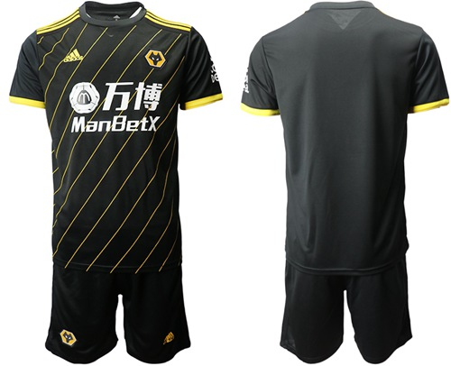 Wolves Blank Away Soccer Club Jersey