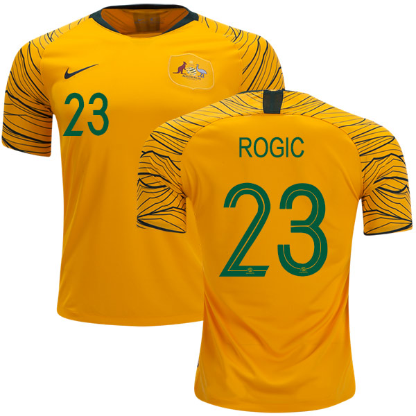 Australia #23 Rogic Home Soccer Country Jersey