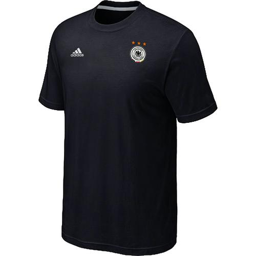 Adidas Germany 2014 World Small Logo Soccer T-Shirt Black