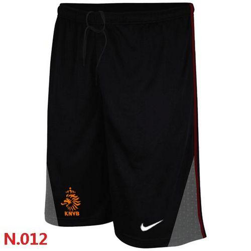 Nike Holland 2014 World Soccer Performance Shorts Black