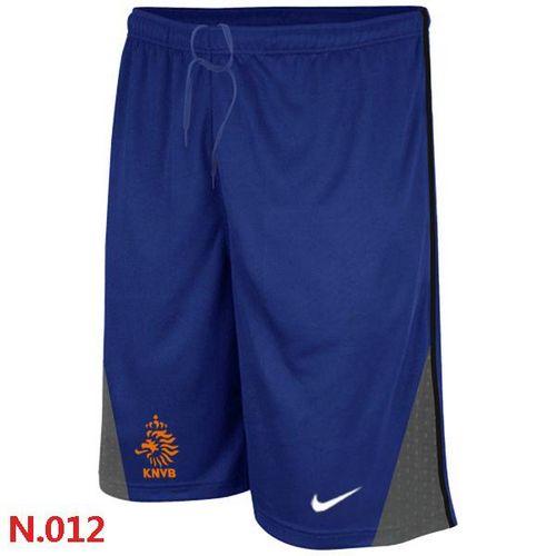 Nike Holland 2014 World Soccer Performance Shorts Blue