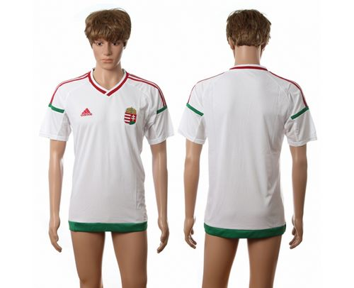 Hungary Blank Away Soccer Country Jersey