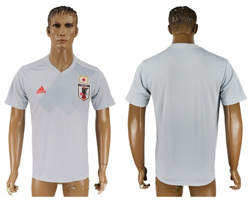 Japan Blank Away Soccer Country Jersey