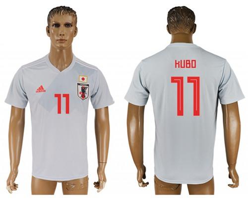 Japan #11 Kubo Away Soccer Country Jersey