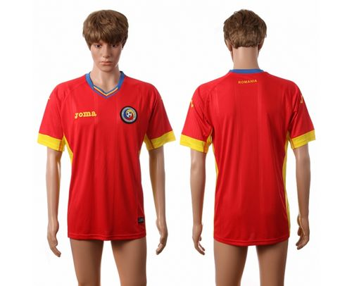 Romania Blank Away Soccer Country Jersey