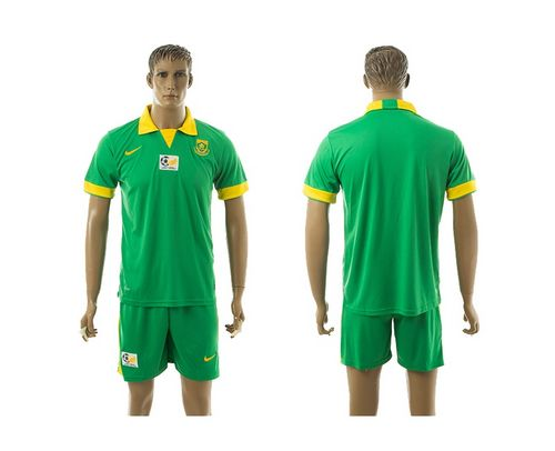 South African Blank Green Away Soccer Country Jersey