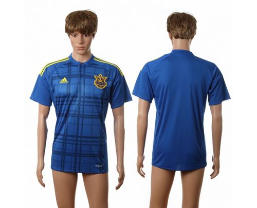 Ukraine Blank Away Soccer Country Jersey