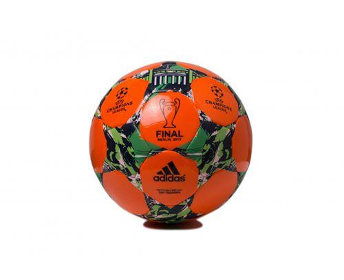 Adidas Soccer Final Game Football Orange & Green