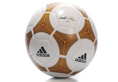Adidas Soccer Football Yellow & White