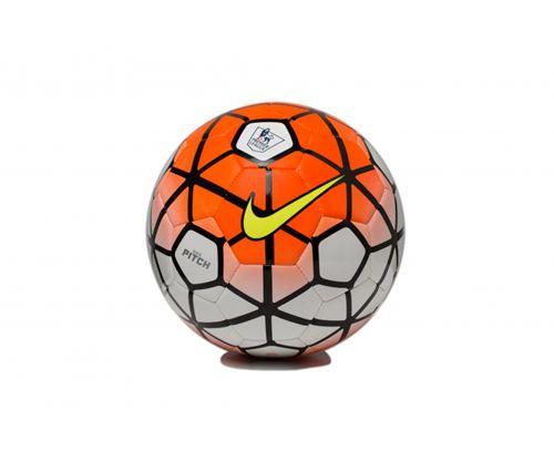 Nike Soccer Football Orange & White