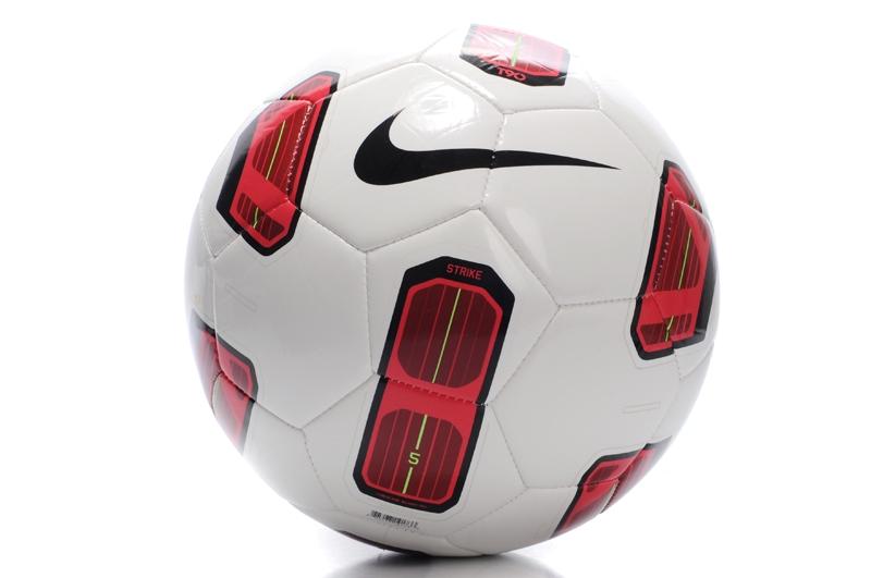 Nike Soccer Football Red & White