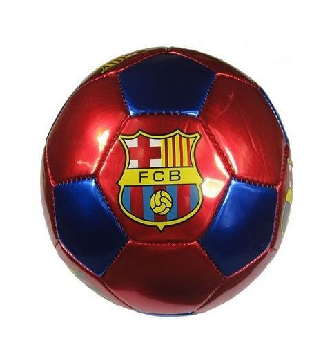 Barcelona Soccer Football Red