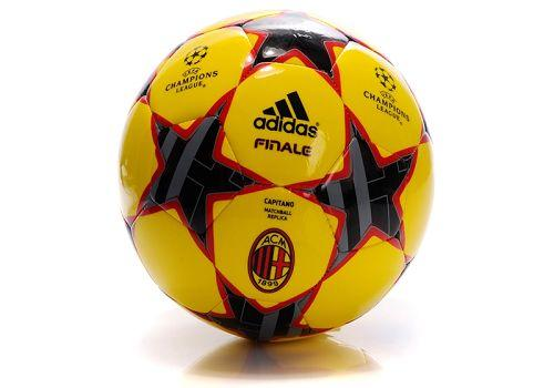 Adidas AC Milan Soccer Football Yellow & Black