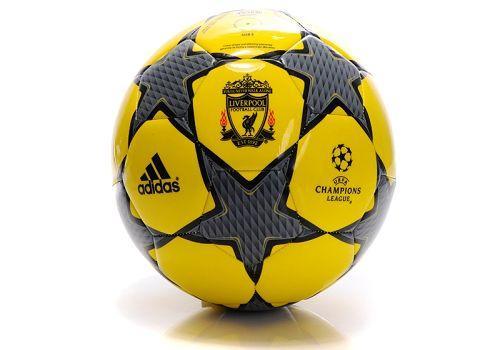 Adidas Liverpool Soccer Football Yellow & Black