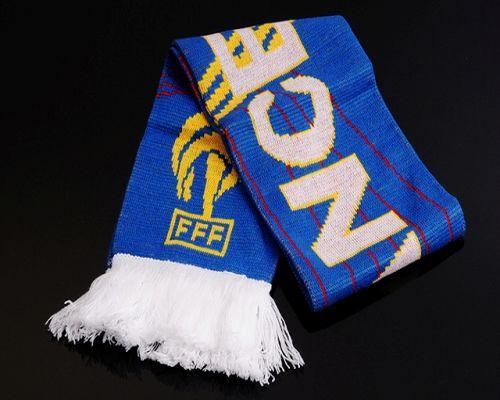 France Soccer Football Scarf Blue