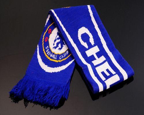 Chelsea Soccer Football Scarf Blue