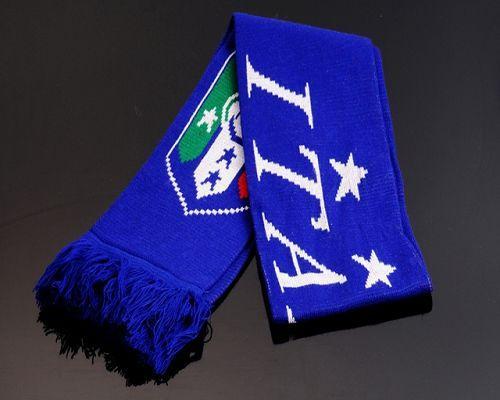 Italy Soccer Football Scarf Blue
