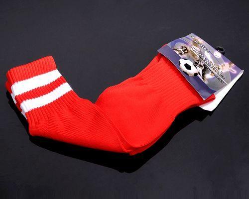 Soccer Football Sock Red