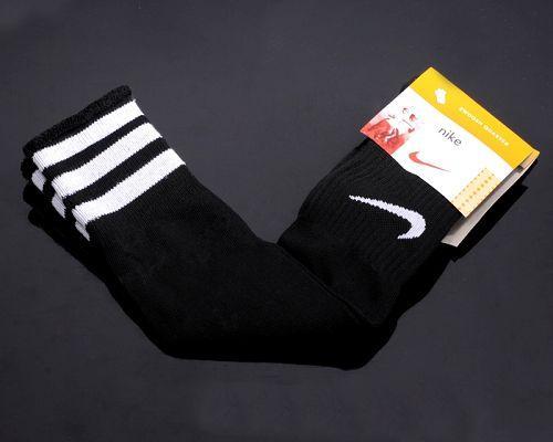 Nike Soccer Football Sock Black