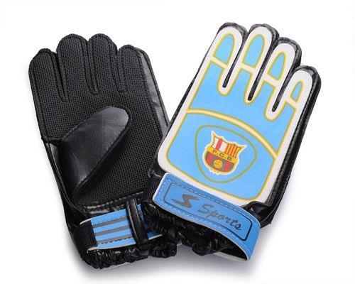 Barcelona Soccer Goalie Glove Blue
