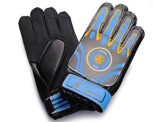Inter Milan Soccer Goalie Glove Blue