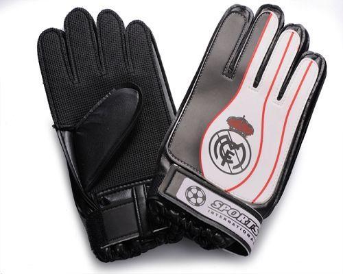 Real Madrid Soccer Goalie Glove White