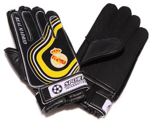 Real Madrid Soccer Goalie Glove Yellow