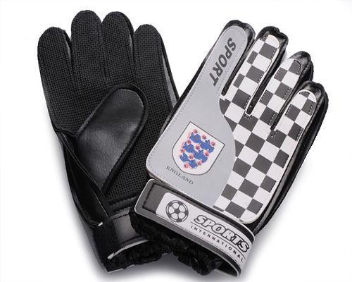 England Soccer Goalie Glove White
