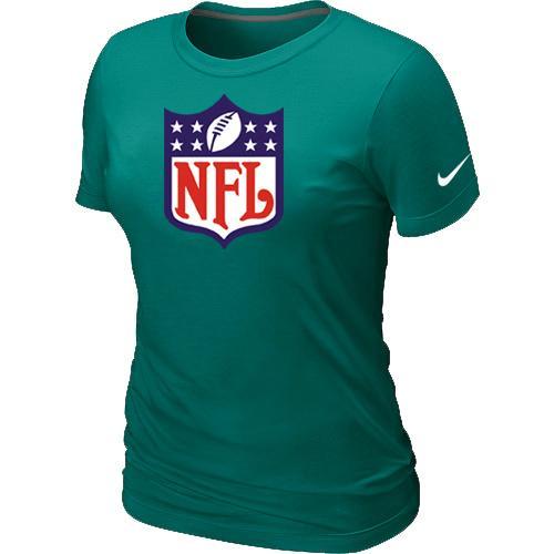 Women's Nike NFL Logo NFL T-Shirt Light Green
