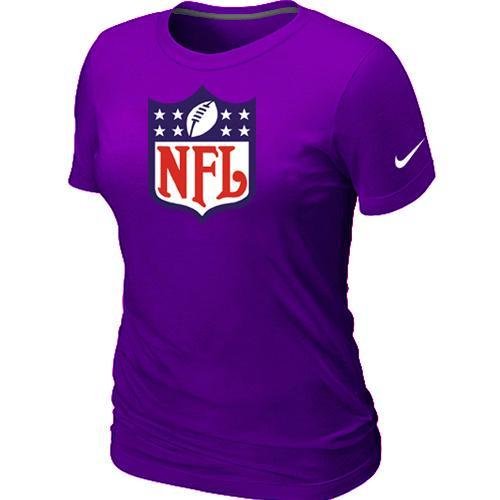 Women's Nike NFL Logo NFL T-Shirt Purple